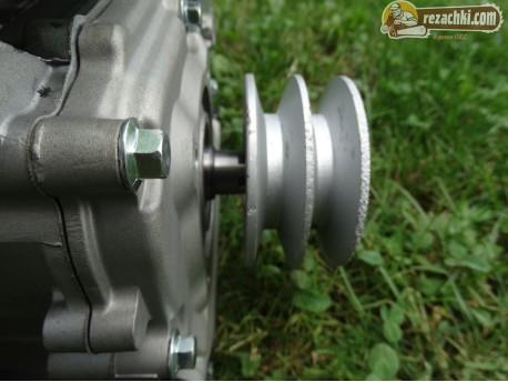 Двигател с шайба за мотофреза, мотоблок 170F 7 к.с.