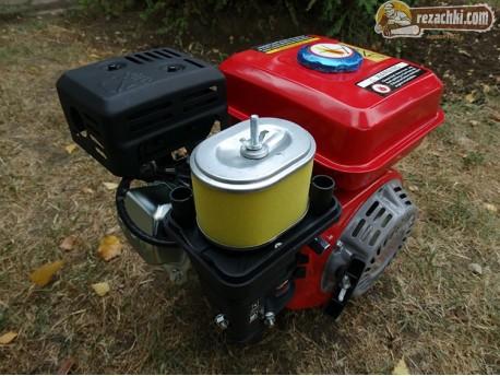Двигател за мотофреза 7 к.с. с шайба