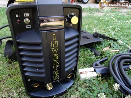 Инверторен електрожен 250 A с аргон и дигитален дисплей