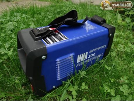 Инверторен електрожен MMA200 MINI-BLUE дисплей