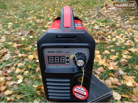 Електрожен инверторен MMA 250 MINI-RED