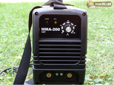 Инверторен електрожен MMA200A
