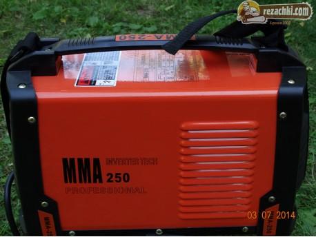 Инверторен електрожен MMA250
