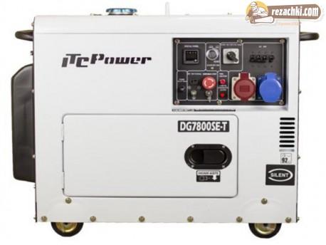 Генератор за  ток трифазен дизелов DG 7800 SE/Т 7.9 kVА, ел. стартер