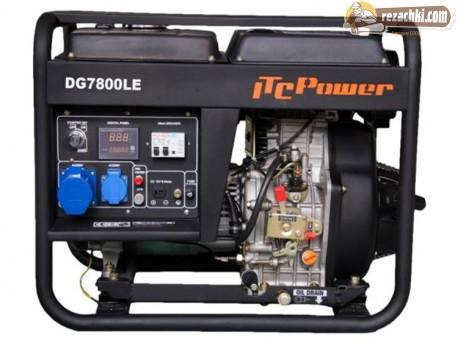 Генератор за ток дизелов DG 7800 LE - 6.3 kW, ел. стартер