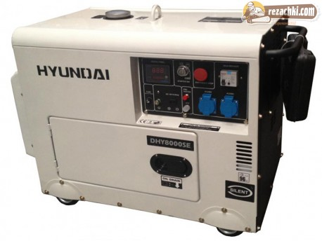 Генератор за ток дизелов DHY 8500 SE - 6.3 kW, ел. стартер