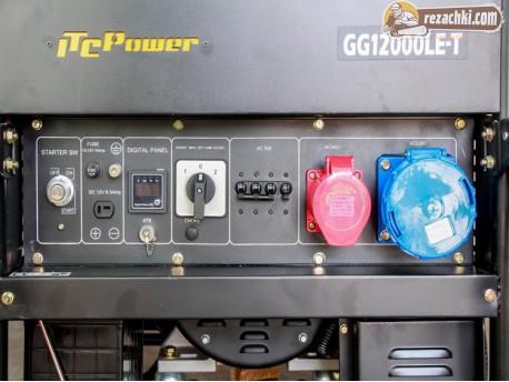 Генератор за ток трифазен GG 12000 LE/Т - 11,3 kVА, ел. стартер