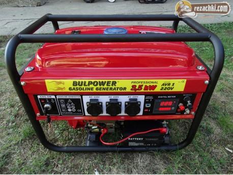 Генератор за ток Bulpower 3.5 ел. стартер