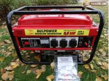 Генератор за ток Bulpower 3.5 ръчен старт