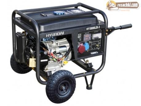 Генератор за ток HYUNDAI  HY10000 LEK - 7.5 kW, ел. стартер
