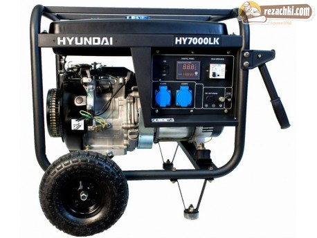 Генератор за ток HYUNDAI HY7000 LK - 5.5 kW