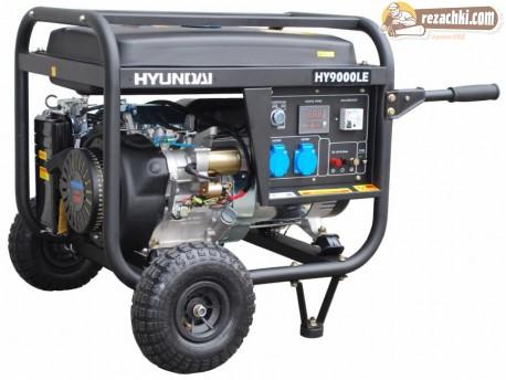 Генератор за ток HYUNDAI HY9000 LEK - 6.6 kW, ел. стартер