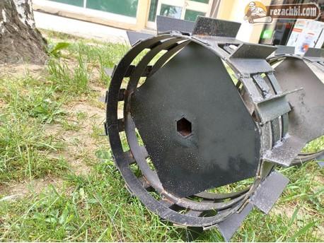 Метални колела за мотоблок 33 мм
