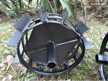 Метални колела к-т за мотофреза Gardenia