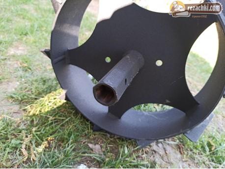 Метални колела к-т на шестограм п- лътни