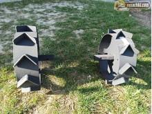 Метални колела к-т на шестограм 24 мм - плътни