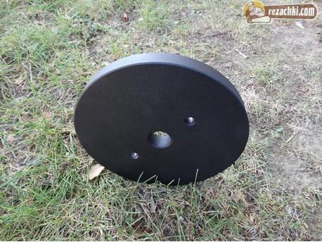 Метални тежести 5 кг к-т за мотофреза Forteco