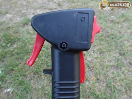 Дръжка дясна с газ за китайска моторна коса