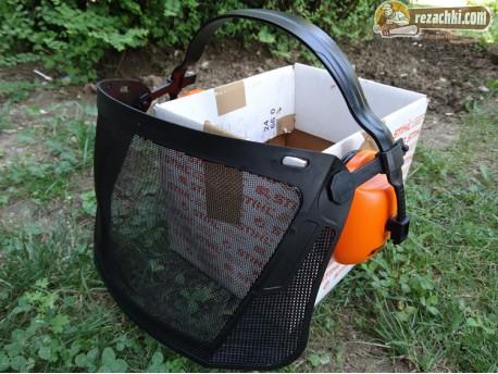 Комплект за защита на лицето и слуха ECONOMY
