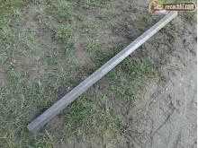 Тръба шестостен 33 мм за полуоски за мотоблок