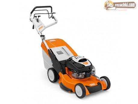 Самоходна бензинова косачка Stihl RM 655 VS мулчиране