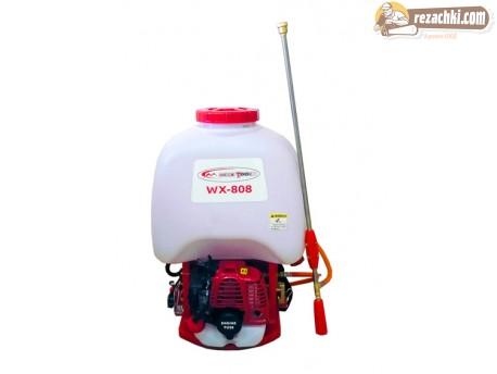 Бутална бензинова, моторна пръскачка WX 808
