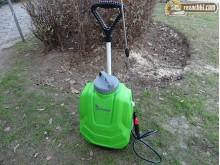 Акумулаторна пръскачка Gardenia на количка с 5 м маркуч 16 л