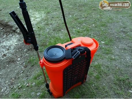 Електрическа пръскачка с акумулатор TopGarden