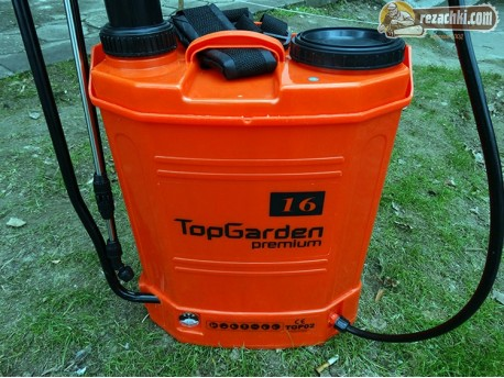 Електрическа пръскачка с акумулатор TopGarden 2 в 1