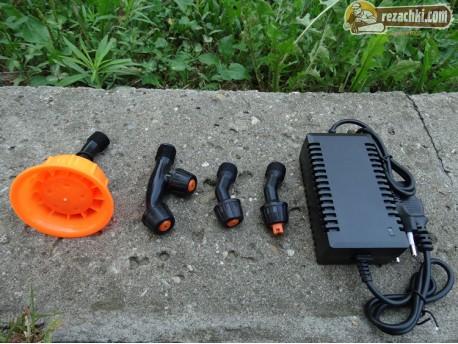 Електрическа пръскачка с акумулатор 2 в 1