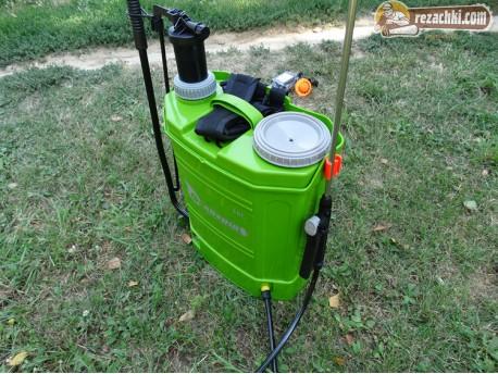 Акумулаторна / електрическа пръскачка 2 в 1 16 л