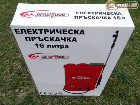 Акумулаторна / електрическа пръскачка Mega Tools 16 л