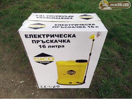 Акумулаторна / електрическа пръскачка Sico 16 л