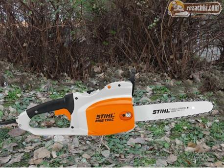 Резачка за дърва - електрически трион Stihl MSE 170 C-B