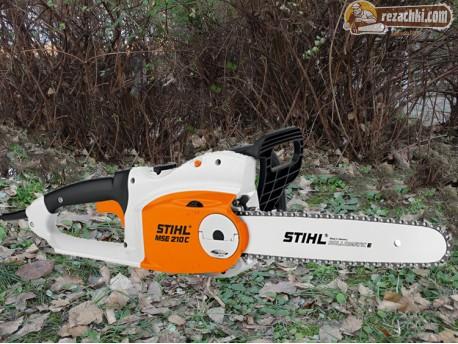 Резачка за дърва - електрически трион Щил - Stihl MSE 210 C-BQ