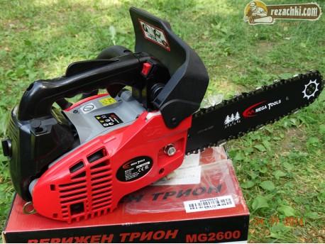 Моторен трион - кастрачка Mega tools MG 2600