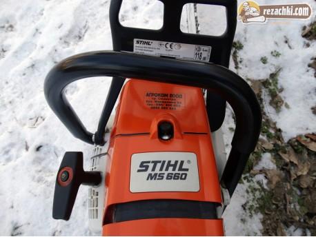 Резачка за дърва - моторен трион Щил - Stihl MS 660