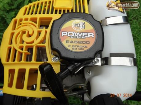 Моторен свредел за дупки Texas EA 5200