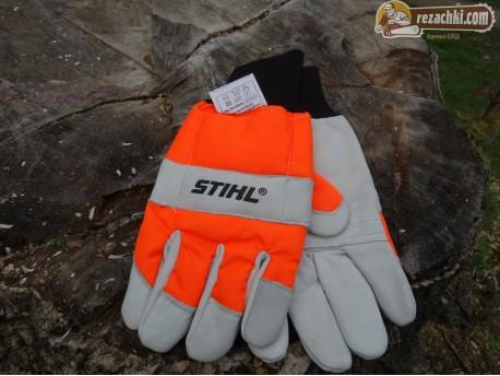Работни ръкавици Stihl Economy - защита от срязване