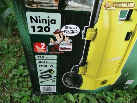 Водоструйка Lavor Ninja 120