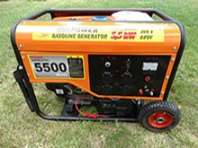Бензинови генератори