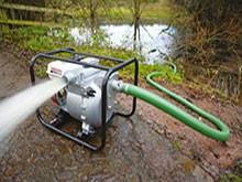 Бензинови водни помпи